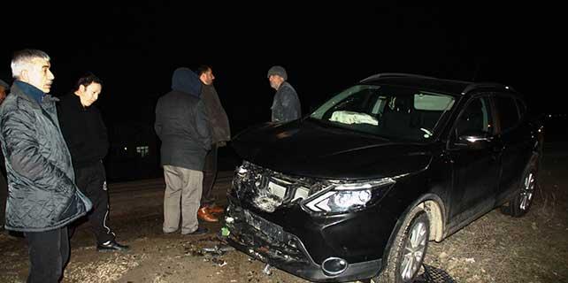 Çubuk'ta zincirleme trafik kazası