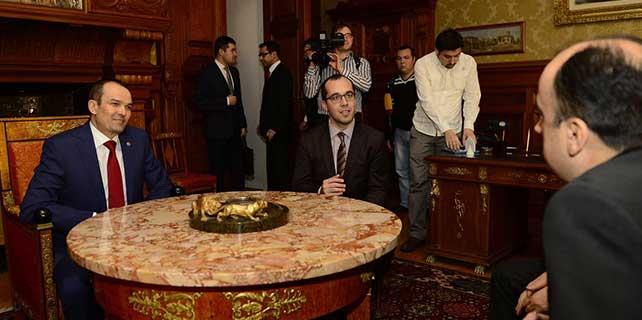 Çuvaşistan lideri İgnatyev'den Büyükelçi Yardım'a ziyaret