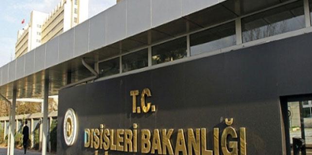 Dışişleri Bakanlığı : 'Saldırı alçakça'