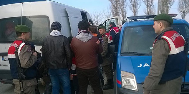 Edirne'de 98 kaçak yakalandı