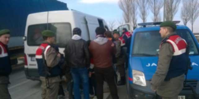 Edirne'de insan kaçakçılığı