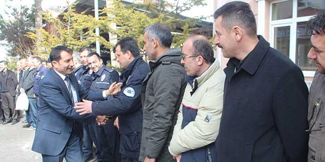 Emniyet müdürü Demirgül Beyşehir'e veda etti
