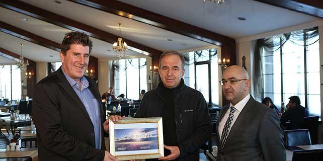Erciyes'teki Lifos Kafe'ye 'en iyi dağ restoranı' ödülü