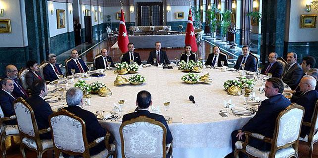 Erdoğan akademisyenlerle buluştu