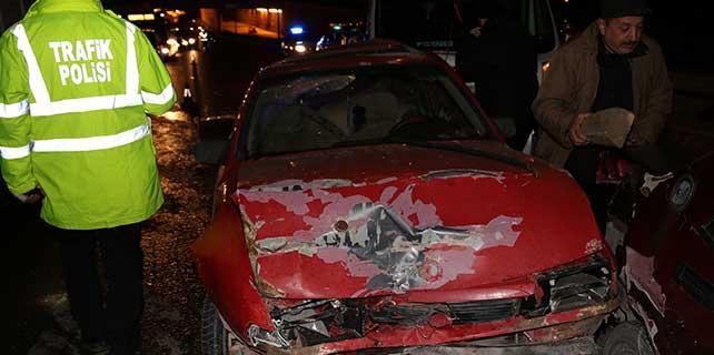 Eskişehir'de zincirleme trafik kazası: 5 yaralı