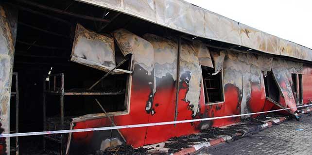 Fabrika yatakhanesinde yangın: 3 ölü, 6 yaralı