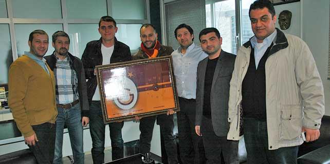 Galatasaray Konya'dan Yeni Meram'a ziyaret
