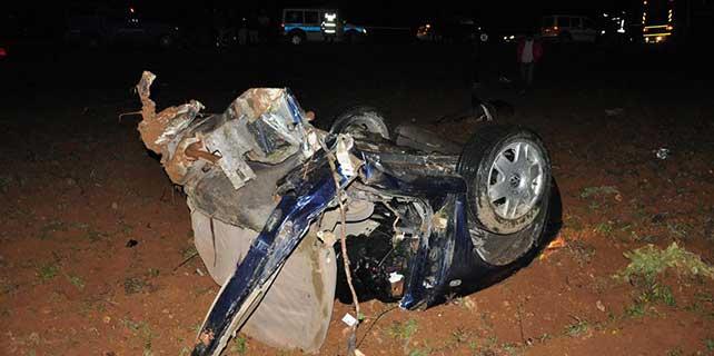 Gaziantep'te trafik kazası: 4 ölü