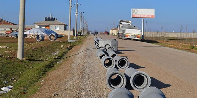 Gözlü Mahallesi kanalizasyona kavuşuyor