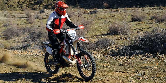 Halkapınar'da enduro motor sporları heyecanı