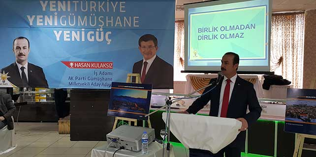 Hasan Kulaksız AK Parti'den aday