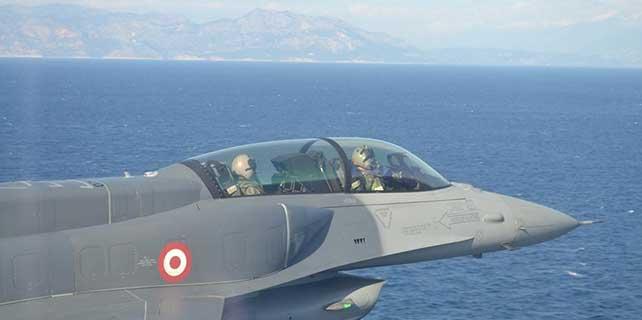 Hava Kuvvetleri Komutanı'ndan Ege'de 'önemli' uçuş