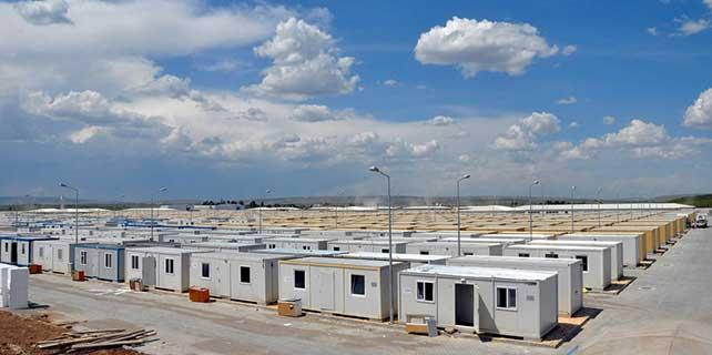 İHH'dan Suriye'ye 6 bin kişilik konteyner kent