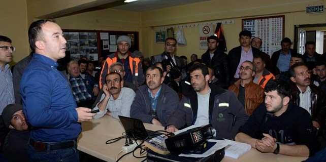 İş güvenliği ve işçi sağlığı semineri