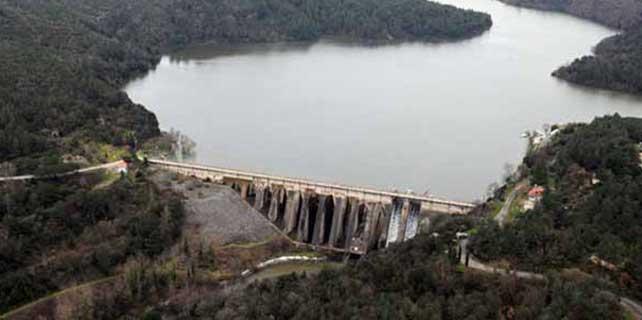 İstanbul'un barajlarının yüzde 90'ı doldu
