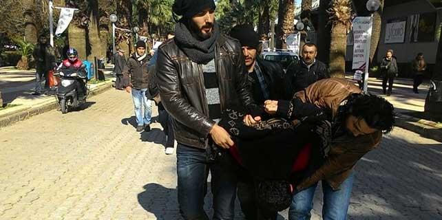İzmir'de olaylı protesto: 25 gözaltı
