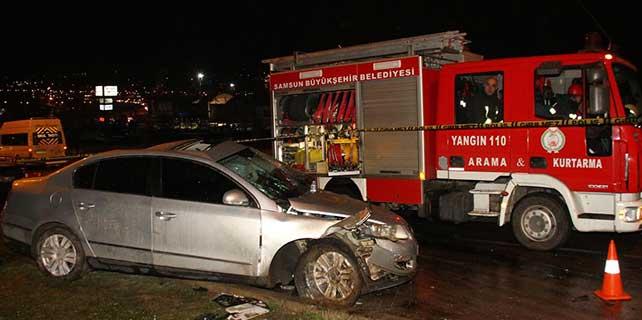 Kamyonet ile otomobil çarpıştı: 1 ölü