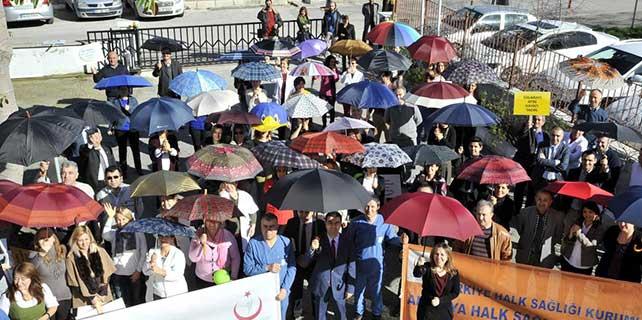 Kansere karşı şemsiye açtılar