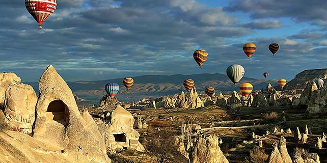 Kapadokya'da Çin'de tanıtılacak