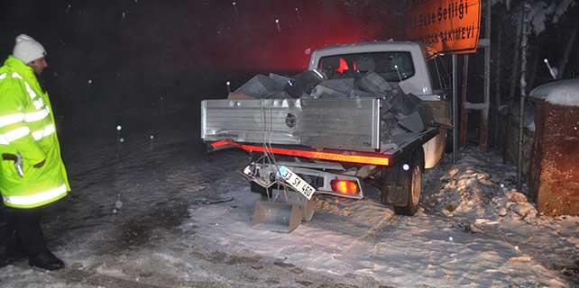 Karaman'da trafik kazası: 16 yaralı