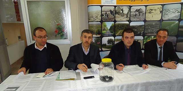 Karapınar'da erozyon sahasına 35 geçici işçi alındı