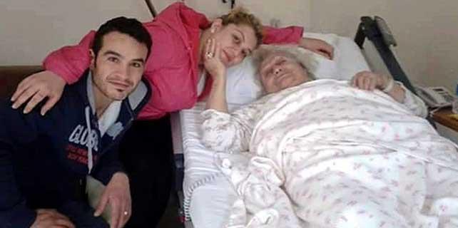 Karındaş hastaneye kaldırıldı