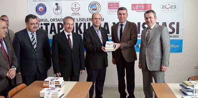 Kitap kampanyası'na Akşehir Ticaret Odası'ndan destek