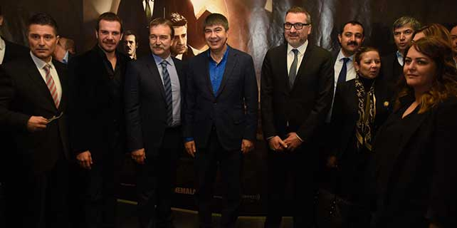 'Kod Adı: K.O.Z.' filminin Antalya galası yapıldı