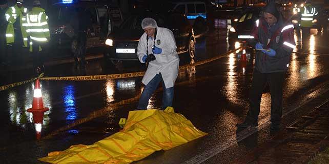Konya'daki kazada bisikletli genç öldü