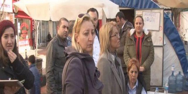 Maltepe Üniversitesi Hastanesi'nde eylem