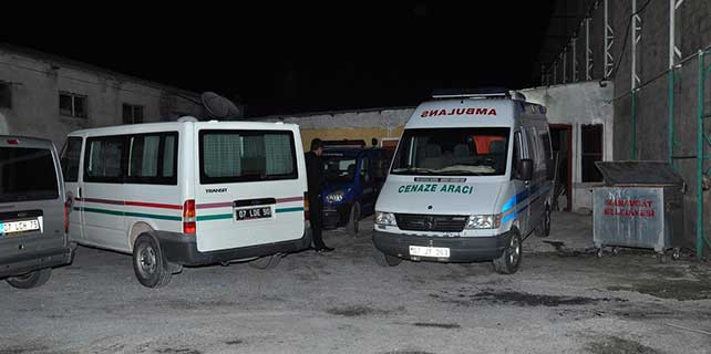 Manavgat'ta bir kişi işyerinde ölü bulundu
