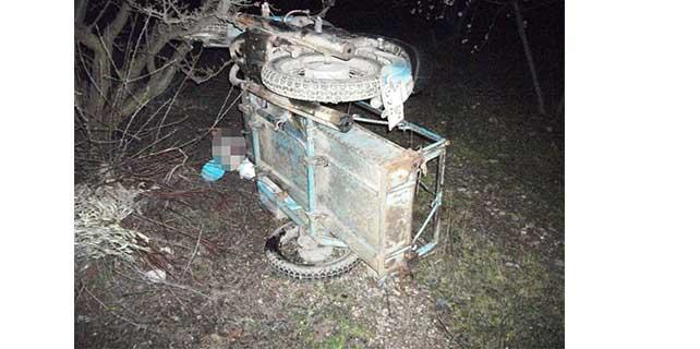 Manisa'da motosikletten düşen sürücü öldü
