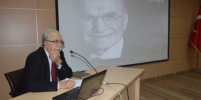 Merhum işadamı Ahmet Keleşoğlu, Konya Aydınlar Ocağı'nda anıldı