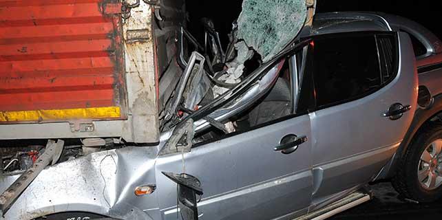 Mersin'de feci kaza: 5 ölü, 1 yaralı