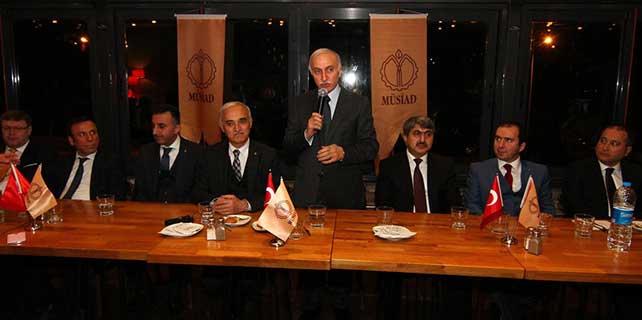 MÜSİAD Başkanı Olpak, Samsun'da