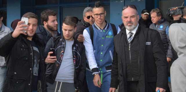 Napoli Trabzon'a geldi