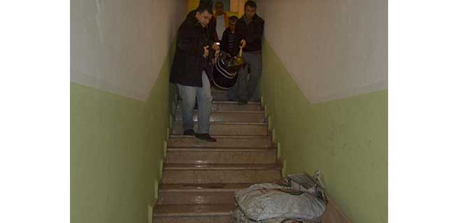 Ordu'da merdivenden düşen kişi öldü