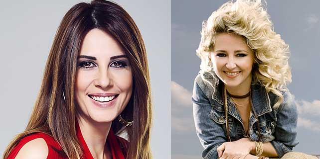 Pınar Aylin Ve Hande Kazanova 'Sevgililer Günü'nde Piazza'da