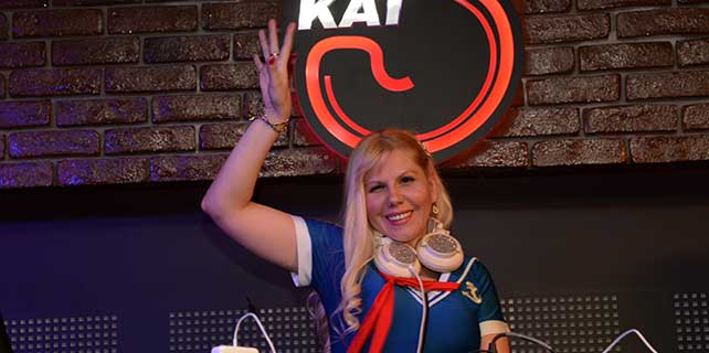 Rus DJ Moro Gata, Bursa'yı coşturdu