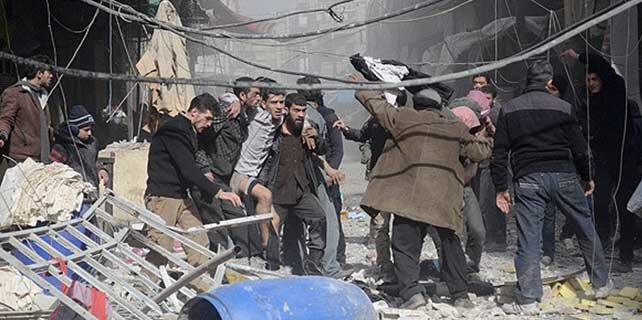 Şam'a hava saldırısı: 23 ölü