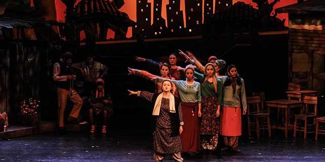 SAMDOB, 'Keşanlı Ali Destanı' müzikalini sahneledi