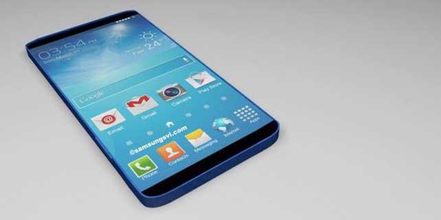Samsung Galaxy S6'dan haber var