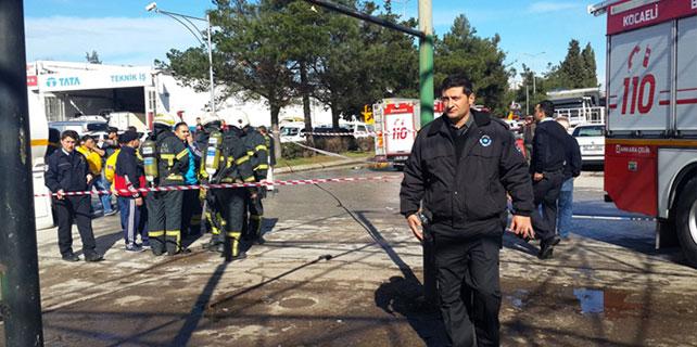Sanayi sitesinde tanker patladı: 1 yaralı