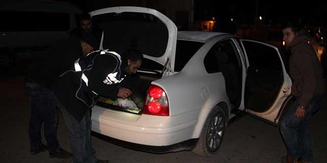 Şanlıurfa'da el yapımı bomba ile molotof kokteyli ele geçirildi