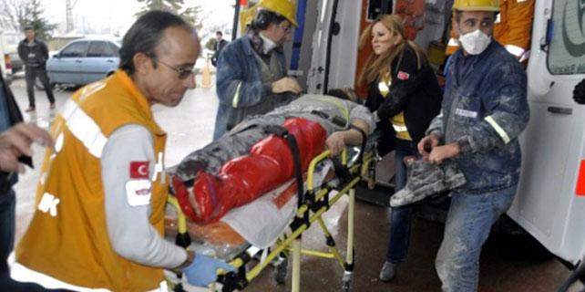 Seydişehir'de İş Kazası: 1 Yaralı