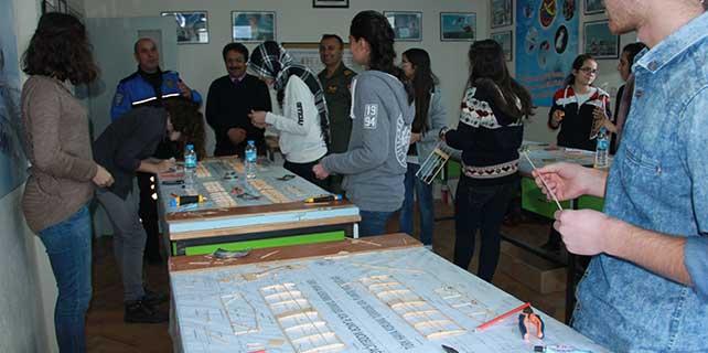 Seydişehir'de öğrenciler için model uçak kursu