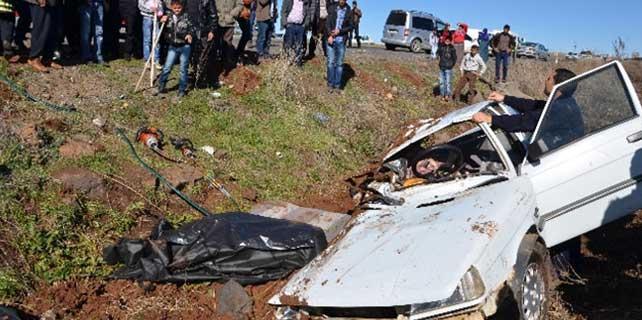Siverek'te trafik kazası: 2 ölü,6 yaralı