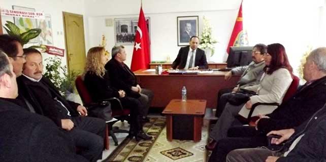 STK temsilcilerinden Seydişehir Emniyet Müdürüne ziyaret