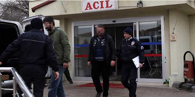 TBMM önünde bildiri dağıtan 8 kişi gözaltına alındı