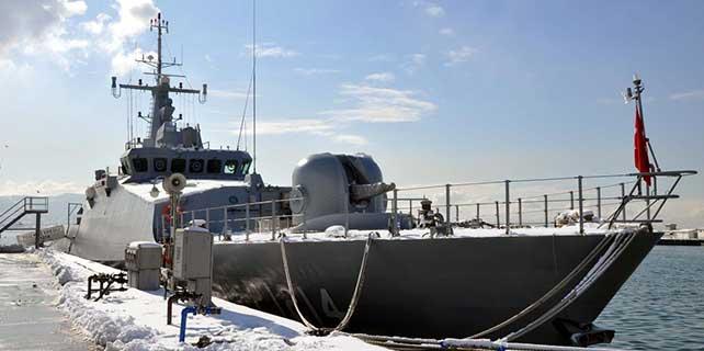 TCG Karadeniz Ereğli karakol gemisi tanıtıldı